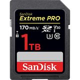 1000GB SanDisk SDXC CARD SanDisk Extreme Pro 170/90 V30 UHS-I U3