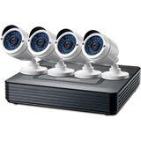 LevelOne DSK-4001 4-Channel CCTV Überwachungs-Kit