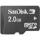 2GB SanDisk MicroSD inkl. Adapter