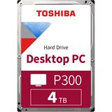 "4TB TOSHIBA HDD 3.5"" (8,9cm) P300 HDWD240UZSVA SATA3 7200"