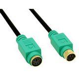 (€1,64*/1m) 3.00m InLine PS/2 Anschlusskabel Stecker auf Buchse