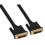 (€4,48*/1m) 2.00m InLine DVI-D Anschlusskabel Premium-Line DVI