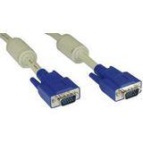 (€3,98*/1m) 2.00m InLine S-VGA Anschlusskabel doppelt geschirmt