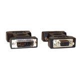 Inline Adapter Anschlusskabel DVI 12+5 Stecker auf VGA 15pol Stecker