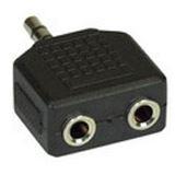 InLine Audio Adapter 3.5mm Klinke Stecker Stereo auf 2x3.5mm Klinke