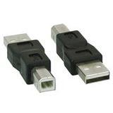 USB 2.0 Adapter Stecker A an Stecker B