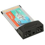InLine USB 2.0 - PCMCIA Adapter 4 Port