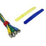 Kabelbinder, Klett-Verschluss, Farbe: blau