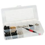 InLine Schraubenset mit Schraubendreher 411-teilig Werkzeug für