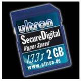 2GB Ultron 35420. Secure Digital 133x Karte