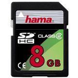 8 GB Hama Standard SDHC Class 2 Bulk