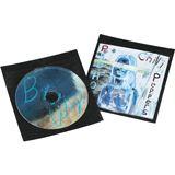 Hama 50er Pack schwarze CD-/DVD- Schutzhüllen für Aufbewahrung (00051283)