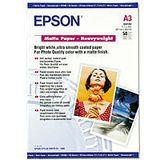 Epson Matte Paper-Heavy Weight Kopierpapier 32.9x42.3 cm (50 Blatt)