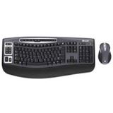 Microsoft Cordless Desktop 5000 Tastatur+Maus Schwarz Deutsch PS2/USB