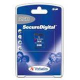 2 GB Verbatim Standard SD Class 4 Retail
