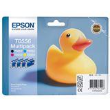 Epson Tinte C13T05564010 schwarz, cyan, magenta, gelb
