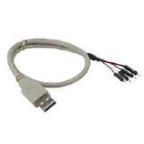 InLine USB 2.0 Adapterkabel Stecker A auf Pfostenanschluss ca 40cm