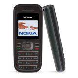 Nokia 1208, schwarz