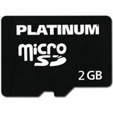 2 GB Platinum Flash SD Class 4 Retail