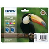 Epson Tinte T009 Twin Pack C13T00940210 cyan hell, magenta hell, gelb