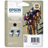 Epson Tinte T003 TwinPack C13T00301210 schwarz
