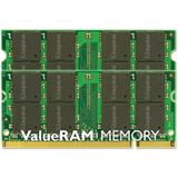 4GB Kingston ValueRAM Apple DDR2-667 SO-DIMM CL5 Dual Kit