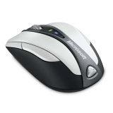 Microsoft Bluetooth 5000 Laser Maus Schwarz/Weiß USB