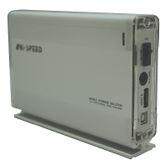 "3.5"" (8,89cm) Evertech ET-1440 Alu SATA/eSATA USB 2.0 Silber"