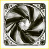SilenX iXtrema Pro 60x60x25mm 1700 U/min 12 dB(A) Titan
