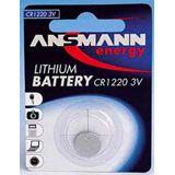 ANSMANN CR1220 Lithium Knopfzellen Batterie 3.0 V 1er Pack