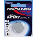 ANSMANN CR2450 Lithium Knopfzellen Batterie 3.0 V 1er Pack