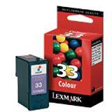 Lexmark N°33 Farbig