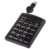 Hama SK120 KeyPad Slim Line Schwarz USB