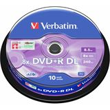 Verbatim DVD+R DL 8.5 GB 10er Spindel (43666)
