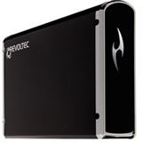 "3.5""(8,89cm) Revoltec Alu Book Edition 2 SATA/eSATA USB 2.0 Schwarz"