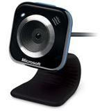 Microsoft Web Kamera LifeCam VX-5000 0.3 MPixel 640x480 Schwarz/Blau