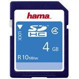 4 GB Hama High Speed SDHC Class 4 Bulk