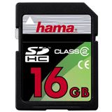 16 GB Hama Standard SDHC Class 2 Bulk