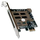 "Digitus DS-30401 ExpressCard"" zu PCI Express Adapter-Karte"