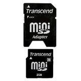 2 GB Transcend Standard miniSD Class 2 Retail