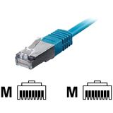 (€0,69*/1m) 10.00m Equip Cat. 5e Patchkabel SF/UTP RJ45 Stecker auf RJ45 Stecker Blau