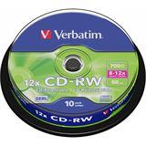 Verbatim CD-RW 700 MB Kratzfest 10er Spindel (43480)