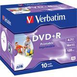 Verbatim DVD+R 4.7 GB bedruckbar 10er Jewelcase (43508)