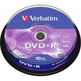 Verbatim DVD+R 4.7 GB 10er Spindel (43498)