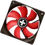 Xilence Red Wing PWM 80x80x25mm 1500 U/min 15 dB(A) schwarz/rot