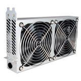 Lian Li PCI Cooling Kit silber 2x 120mm Lüfter für