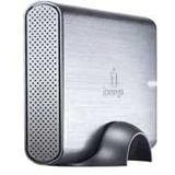 500GB Iomega Prestige Desktop Hard Drive USB 2.0 Aluminium