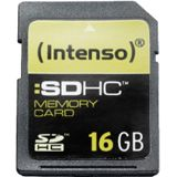 16 GB Intenso Standard SDHC Class 4 Bulk