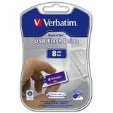 8 GB Verbatim Store `n` Go Micro lila USB 2.0