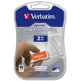 2GB Verbatim Micro Store n Go orange USB 2.0